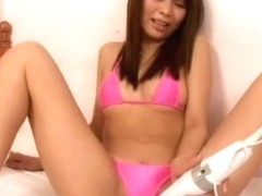 Exotic Japanese slut Akina in Fabulous Lingerie, Masturbation/Onanii JAV movie