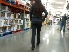 Hottest worker in a mega store