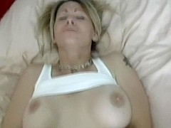 Dicking my hot blonde in the fanny