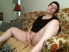 Chubby Teen morning masturbating