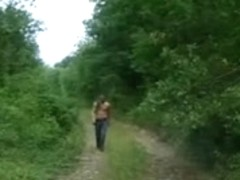Porn video from France featuring a public sex foursome