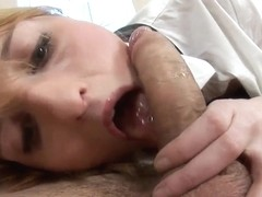 Gelya gets her ass fingered while riding on cock