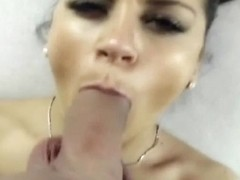 Awesome Couple Blowjob Cumshot and Swallow