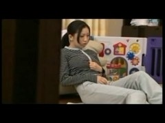 Excellent Japanese housewife getting very concupiscent