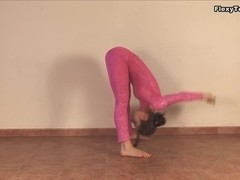 Irina Galkina - Gymnastic Video part 1