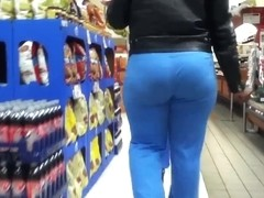 Blue Brown Round Ass Booty(VPL)