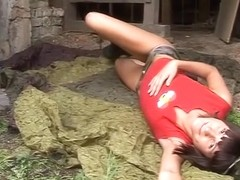 Incredible pornstar in fabulous outdoor, small tits sex video