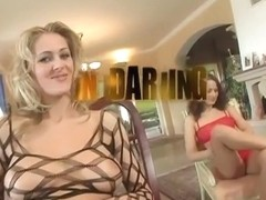 Kami And Jane Spread Their Holes For Huge Cock