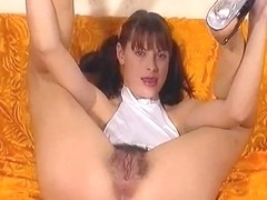 Curly sister and brother's man fuck by TROC