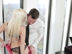 Crazy pornstar Jessie Volt in Best Lingerie, Blonde sex scene