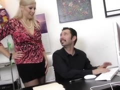 Officer Slacker Tommy Pistol Disciplined by Zoey Tyler