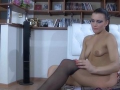 LacyNylons Video: Sibylla