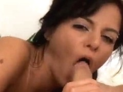 Brazillian sweetheart acquires her cum-hole rammed