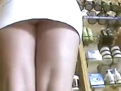 Sleek legged and shaved upskirt videos don't come at an easy price excpet when they are free
