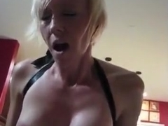 Cumming hard by riding her man pov for creampie
