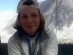 When I acquire cold my excited playgirl gives me hard BJ during the time that skiing