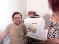 Natalie Hot Fucked In The Kitchen