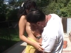 Crazy pornstar Cole Conners in best latina, outdoor adult scene