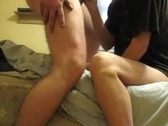 My slut made my cock hard