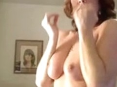Jim inserts a fuck toy in my cunt