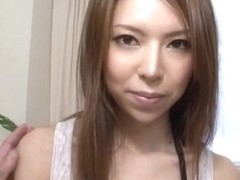 Rino Asuka Japanese teen gets pumped and jizzed on face