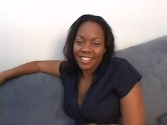 beautiful ebony Persuasion with white dick