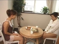 Japanese Lesbo) I missed the final teach, can I stay three