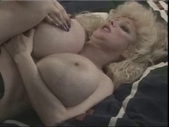 breasty golden-haired vintage