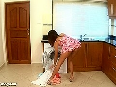 Oil in Sweet Cotton Panties Movie