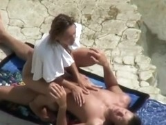 Small breasts nudist fucked missionary style