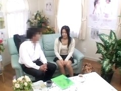 Voyeur video in which a naughty japanese girl is fucked hard