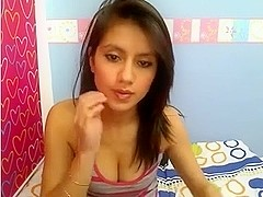 hot legal age teenager on shycam