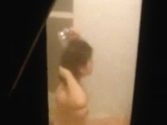 Korean shower voyeur