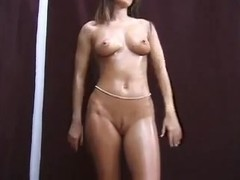 Sexy Brunette Girl Gives A Great Blowjob