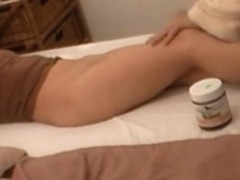Asshole massage for czech amateur Zuzinka