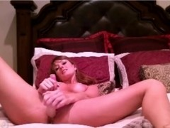 Brunette Hair records herself masturbating for her spouse