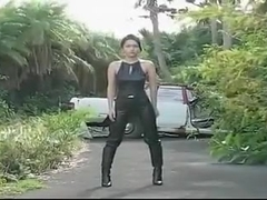 JPN leather girl softcore (non nude)