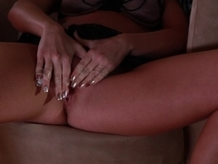 Gorgeous Blonde Pussy Toying