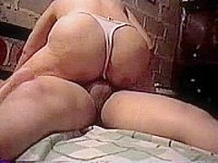 Plump Mature MILF Rides Dick On Bed