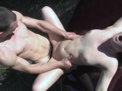 Frisky amateur blondie screams in pleasure while fucked