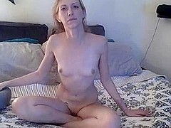 Blonde likes fucking before a camera