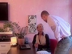 Amateur blonde video with me fucking in missionary