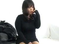Slut gets her yoni all wet after she is fucked at the clinic