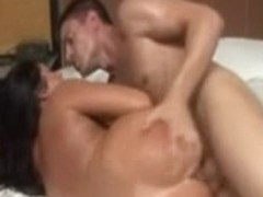 Curvy Brazilian hottie does anal and gets facial
