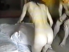 Incredible Homemade record with Blowjob, Threesome scenes