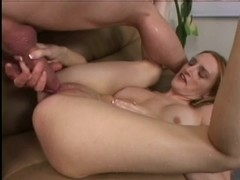 Heather Pink anal squirt