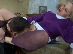 PantyhoseLine Movie: Susanna and Marcus