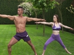 Angel Rush In Yoga beauty has most intense fuck