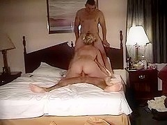 Blonde amateur and two guys sex tape