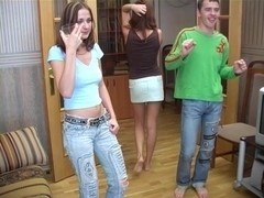 Sex Party with blow Job in washroom